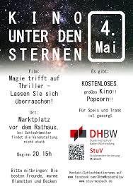 Kinoprogramm Baden Baden Kino Unter Den Sternen U2013 Stuv Mosbach