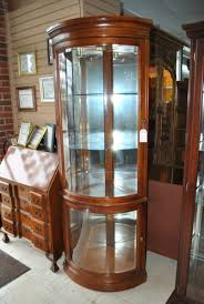 Ideas Design For Lighted Curio Cabinet Crafty Ideas Lighted Corner Curio Cabinet Wonderfull Design