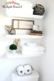 guest bathroom makeover reveal the rustic boxwood blog before