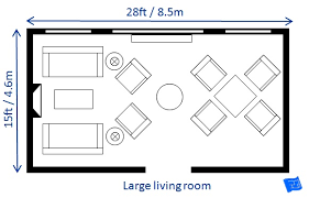 Bedroom Floor Plan With Measurements A List Of Small Medium And Large Living Room Size Dimensions With