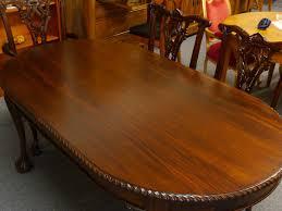 Ebay Chippendale Schlafzimmer Weiss Tisch Esstisch Küchentisch Aus Massivholz Antik Stil Im Nussbaum