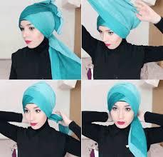 tutorial turban sederhana 3 tutorial hijab turban simple with crown flower decoration beauty