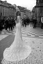 Long Sleeve Lace Wedding Dress Open Back Berta Bridal Fall 2015 Wedding Dresses Wedding Inspirasi