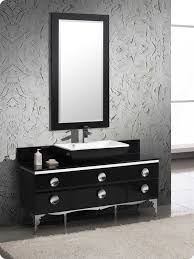 Black Bathroom Vanity With Sink by Fresca Moselle 59