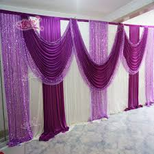 wedding backdrop aliexpress luxury wedding backdrop with beatiful swag wedding drape and