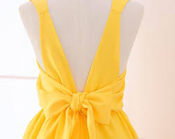 yellow dress yellow dress etsy