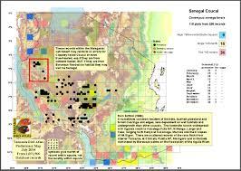 Senegal Map Coucal Senegal Map Jpg