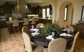 kitchen dining decorating ideas villa dining room and kitchen design decobizz