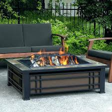 Gas Patio Table Patio Furniture With Gas Pit Outdoor Gas Pit Table Uk