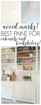 what is the best paint to paint your kitchen cabinets with the right paint for cabinets and bookcases diy beautify