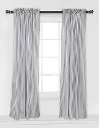 Grey Curtains Amazon Com Bacati Grey Pin Stripes Curtain Panel Baby