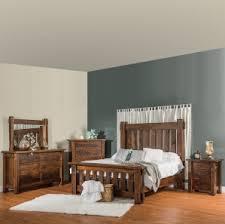 rustic bedroom furniture optional king size bed rustic dresser