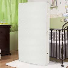 Soy Crib Mattress L A Baby Eco Friendly 2 In 1 Soy Foam 5 75 Crib Mattress With