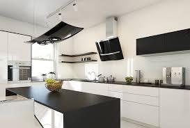 cuisine noir laqué plan de travail bois cuisine grise plan de travail bois agrable plan de travail cuisine