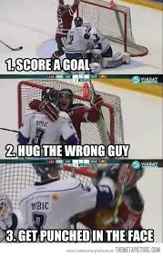 Soccer Hockey Meme - hockey step by step the meta picture