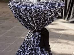 Linens For Weddings Table Decor Black And White Linens For Weddings Black White