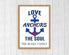 Love Anchors The Soul 8x10 - digital download fully customizable life is too short for bad