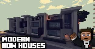 minecraft pc modern row house tour youtube