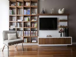 living room wall decor shelves interior design