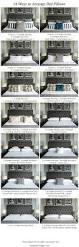 Girls Bedroom Pillows Best 25 Pillow Arrangement Ideas On Pinterest Bed Pillow