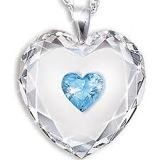 crystal heart pendant necklace images Jewelry for cat lovers cool cat collectibles