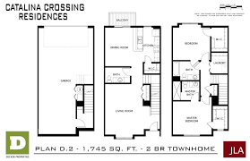 Townhome Floorplans Catalina Crossing Apartments In Madison Decker Properties