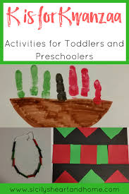 k is for kwanzaa activities for toddlers and preschoolers