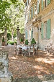 the french chateau mireille st rémy de provence france cool