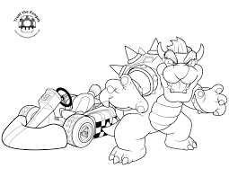 mario kart 8 coloring pages super mario coloringstar