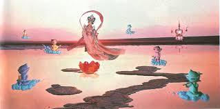 pure land mariko mori 1998 c e color photograph on glass ap