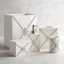 Crackle Glass Bathroom Accessories by Bathroom Decor U0026 Accessories Pier 1 Imports