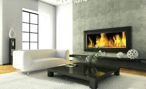 installing a gas fireplace on an interior wall installing a two