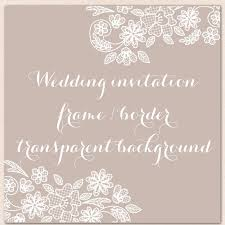 wedding invitation border frame lace clipart white lace wedding