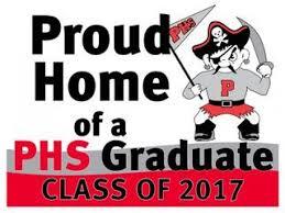 graduation sign phs pirate 2017 graduation lawn signs on sale now palatine il