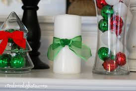 christmas mantel decor 2012 021 creations by kara