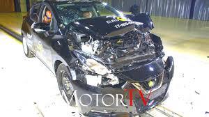 nissan micra wheel size safety 2017 nissan micra l euro ncap crash test l 4 star rating