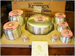 120 best vintage canisters images on pinterest vintage canisters