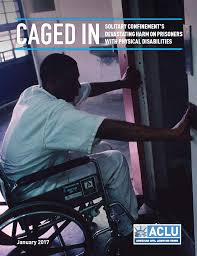 Is Being Blind A Physical Disability Caged In The Devastating Harms Of Solitary Confinement On