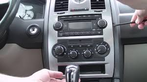 how to remove 2002 2005 chrysler 300m cd player radio car stereo