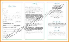 funeral programs exles 10 exles of funeral programs invoice exle
