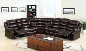 Used Reclining Sofa Leather Living Room Furniture On Sale Large Leather Sofa Hover