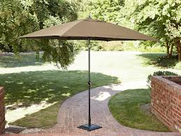 Sears Patio Umbrella by La Z Boy Outdoor Charlotte 9 U0027 X 6 5 U0027 Market Umbrella Limited