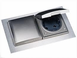 steckdose design versenkbare steckdosen einbausteckdosen küchenzubehör evoline