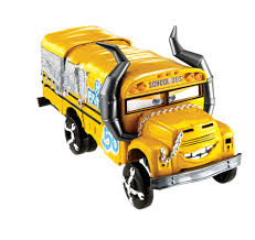 Disney Pixar Cars 3 Crunch And Crash Vehicle Miss Fritter Toys