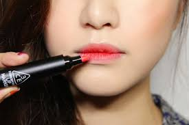 tutorial kiss korean korean girls lipstick trend gradient lips