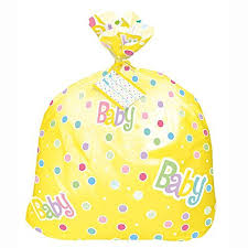 large baby shower gift bag