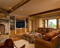 Best Family Room Leather Coach Images On Pinterest For The - Leather family room furniture