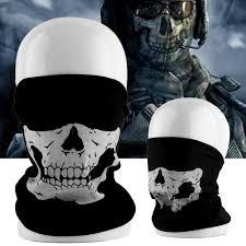 whosale cool tubular black skull ghost face mask halloween winter