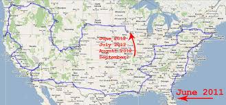 road trip map of usa map a road trip major tourist attractions maps