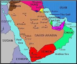 uae map yemen uae map